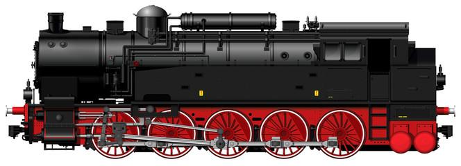the old steam locomotive
