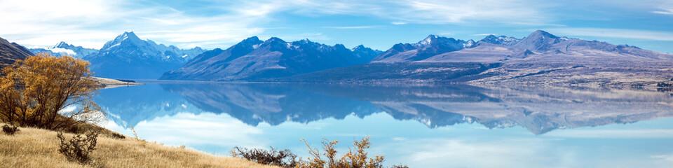 Mountain Cook NewZealand Panorama