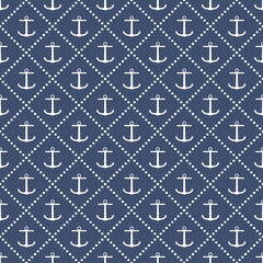 Anchor seamless pattern