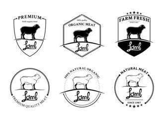 Vintage Lamb Labels