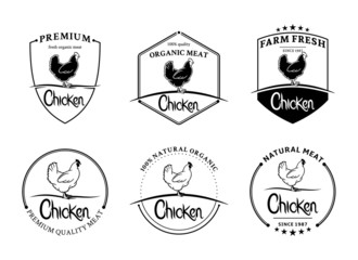 Vintage Chicken Labels