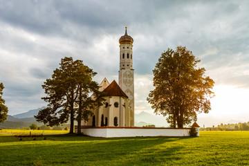 St Coloman Kirche in Bayern