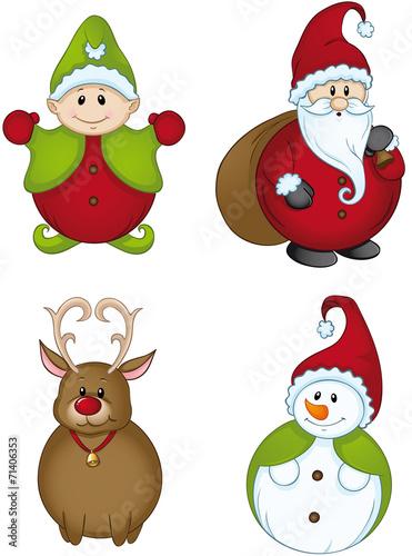 Weihnachtswichtel stockfotos und lizenzfreie vektoren auf bild 71406353 - Clipart weihnachtswichtel ...