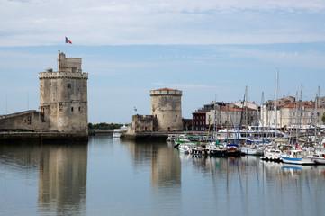 Vieux port de La Rochelle et ses Tours
