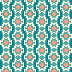 Seamless aztec pattern.