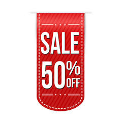 Sale 50% off banner design