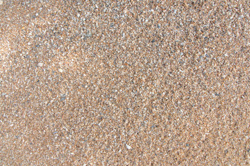 Sand texture create nice pattern,Thailand.