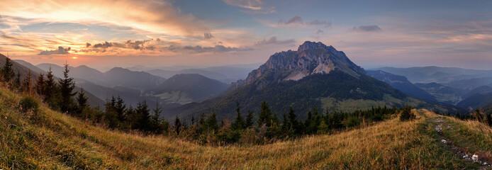 Foto op Plexiglas Bergen Slovakia mountain peak Rozsutec