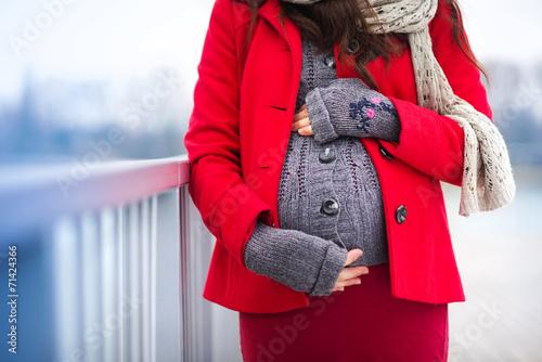 Зимние беременной