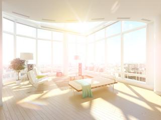 Penthouse Above City