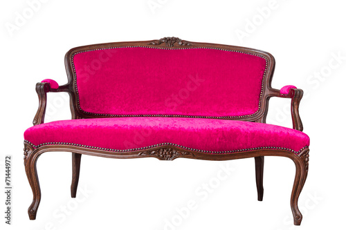 Pink Vintage Sofa Stock Photo And Royalty Free Images On