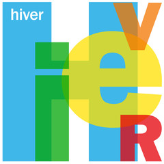 """""""HIVER"""" (calendrier voeux meilleurs joyeux noël soldes)"""