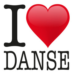 I love Danse