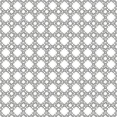 Seamless silver & white pattern