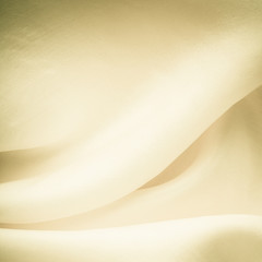 White background abstract cloth wavy folds of textile texture