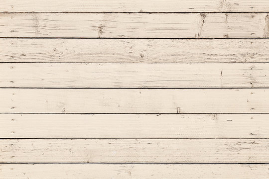 Beige colored old wooden wall background photo texture