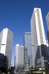 新宿の高層ビル街