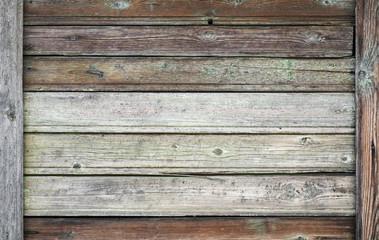 Old dark wooden wall, vintage background photo texture