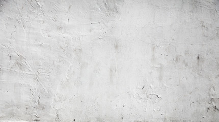Fotorollo Betonwand White concrete wall background texture with plaster