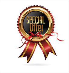Special offer gold medal
