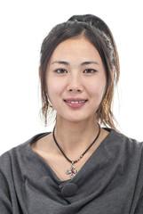 beautiful Chinese woman portrait
