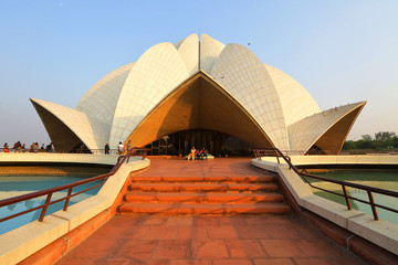 Photo sur Plexiglas Delhi Lotus Temple, New Delhi