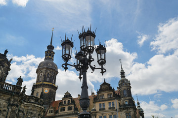 Dresden historical center