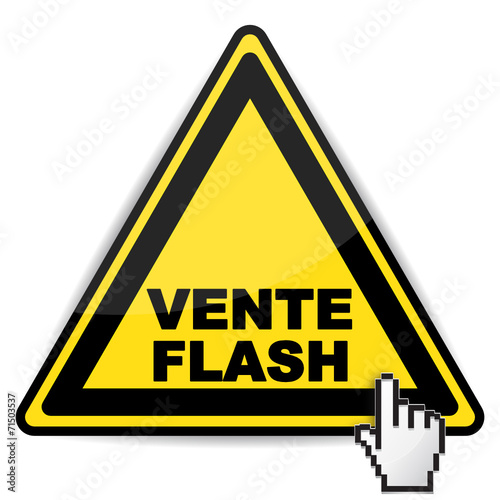 Vente flash icon stock image and royalty free vector - Vente flash internet ...