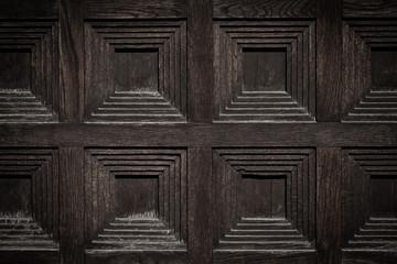 close-up image of an wooden door
