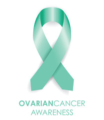 ovarian cancer ribbon