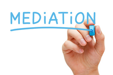 Mediation Blue Marker