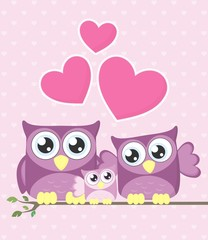 owl baby family