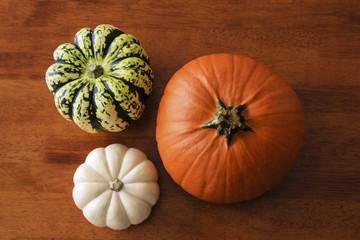 Aerial Pumpkin Table