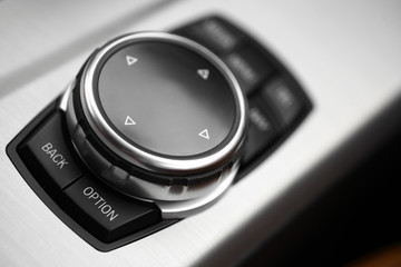 Car buttons detail
