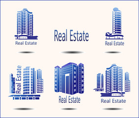 set of vector icons Real Estate