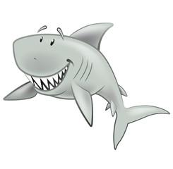 Cute Shark Character.