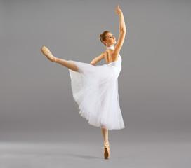 ballerina  in ballet pose classical dance