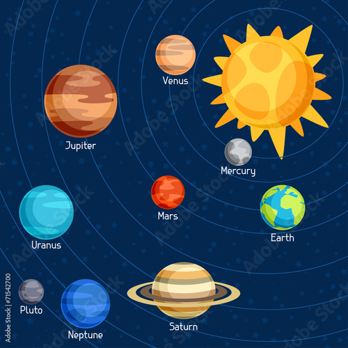 Planets and Graphics  Classroom Clipart