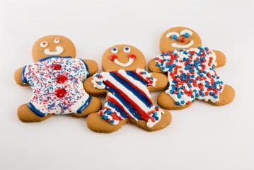 Gingerbread Patriotic Theme