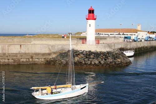 Port De La Cotiniere Ile D Oleron Charente Maritime Stock Photo And