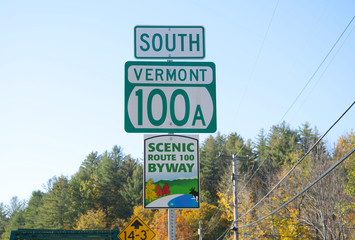 South Vermont road sign