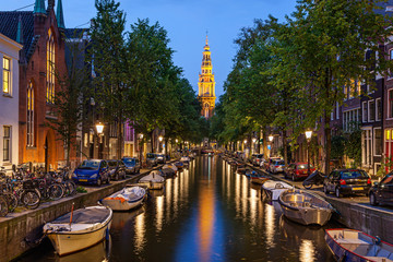 Photo sur Aluminium Amsterdam Amsterdam canals