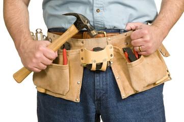 Construction Worker's Tool Belt