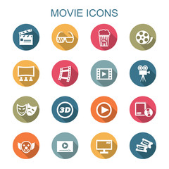 movie long shadow icons