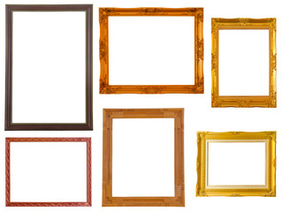 Picture frame Thai style set