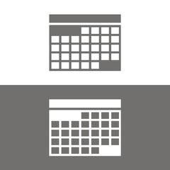 Icono calendario BN