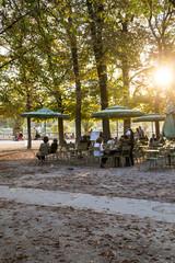 jardin du luxembourg automne
