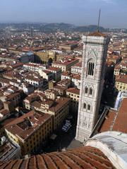 Campanile di Santa Maria del Fiore,  Firenze, Italia