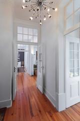 Elegant vintage house interiors hallway