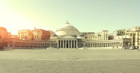 Wall Murals Napels Piazza del Plebiscito di Napoli